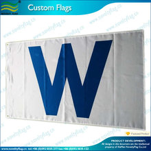 3x5 Banner Chicago Cubs Win Wrigley Field 'W' Flag