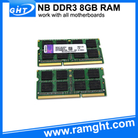 Full compatible lifetime warranty motherboard scrap 8gb ddr3 laptop ram