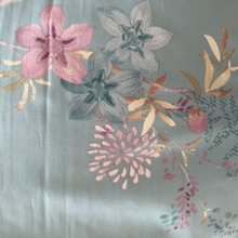 import fabric pure polyester printed fabric made in China