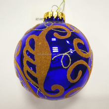 High Quality artificial christmas tree deco Gifts Flannel decorated Xmas Ball