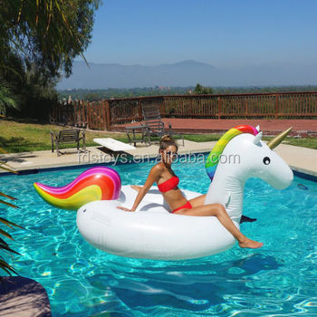 factory price of unicorn pool floats/inflatable floating mat/water toys