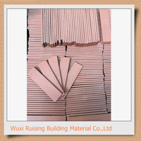 Standard clay face brick dimensions made in China exterior and interior wall decoration
