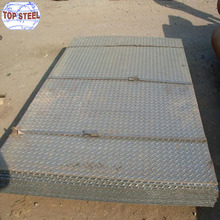 Mild steel Q235 SS400 hot rolled chequered plate s275jr