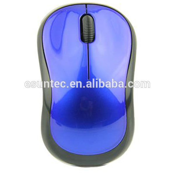 Fashion Unique Best Blue Wireless Optical Mouse 2016 , MW-030