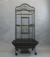 New Large Wrought Iron Open Play Top Factory Outlet Parrot Bird Cage