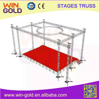 Spigot Truss Compatible With Global Truss