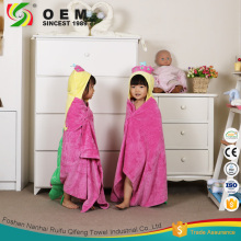 Wholesale high quality terry towel baby bathrobe