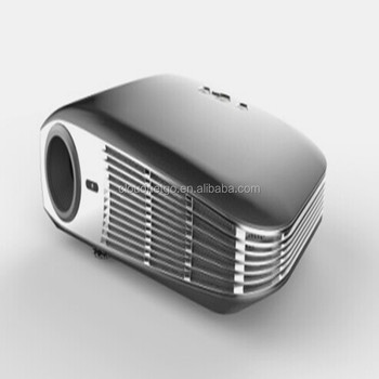 Cheapest Protable Mini 3D Digital Android 4.4 Projector support 4K ,Max 2200Lumens with remote control