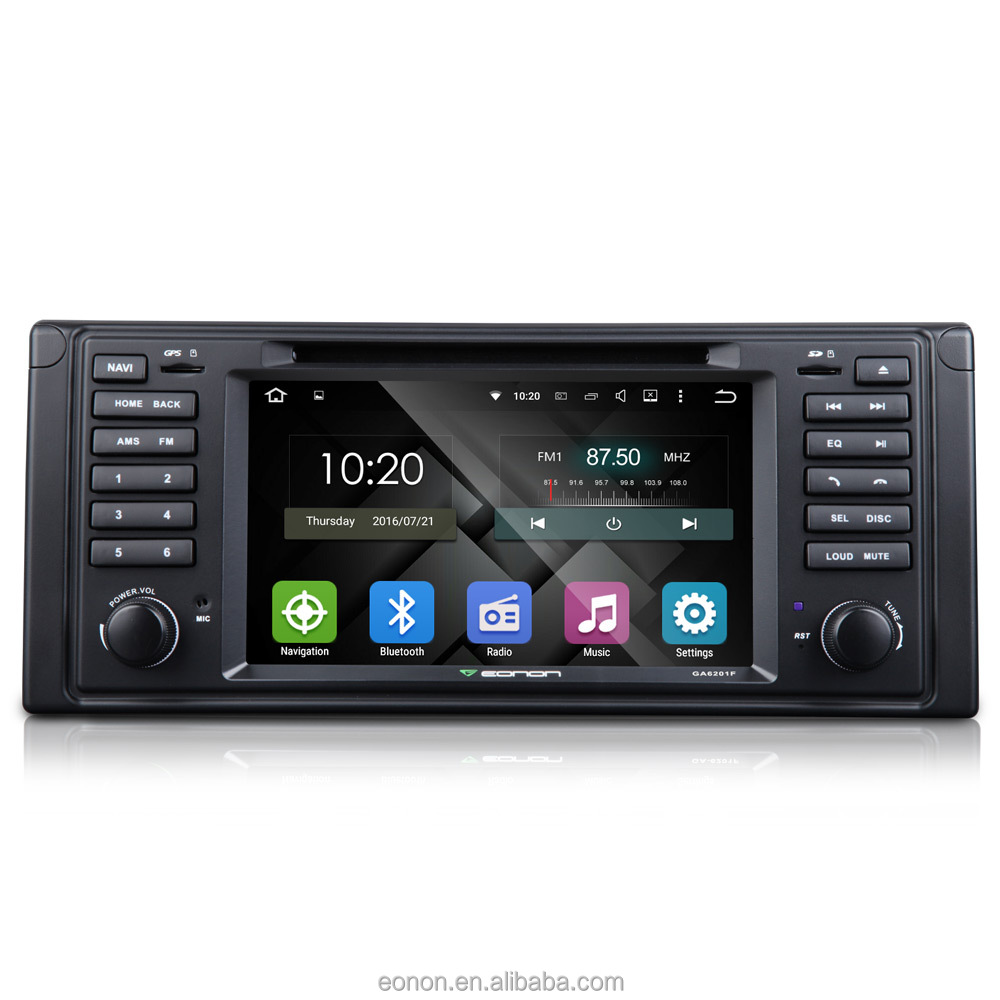 Eonon GA6201F for BMW E39 Android 5.1.1 Lollipop Quad-Core 7 inch Multimedia Car DVD GPS with Mutual Control EasyConnection