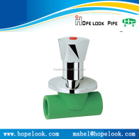 Best price professional factory PPR pipe fitting 20 dimension stop valve