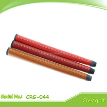 Stitched Genuine Leather Putter Golf Grips