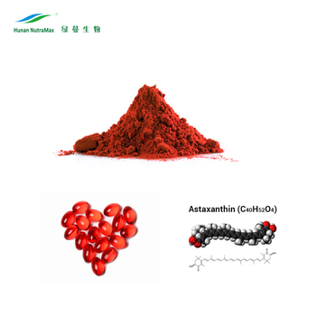 Natural Haematococcus Pluvialis Extract Astaxanthin Powder 4% by HPLC & UV-VIS