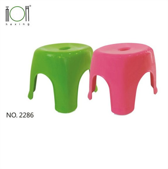 Rectangle Plastic Stool Plastic Chair Small Size Furniture