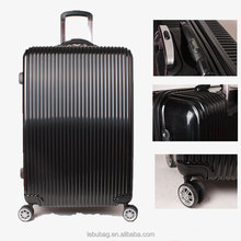 Classic pinstripes designer replica PC material digital scale handle travel luggage set