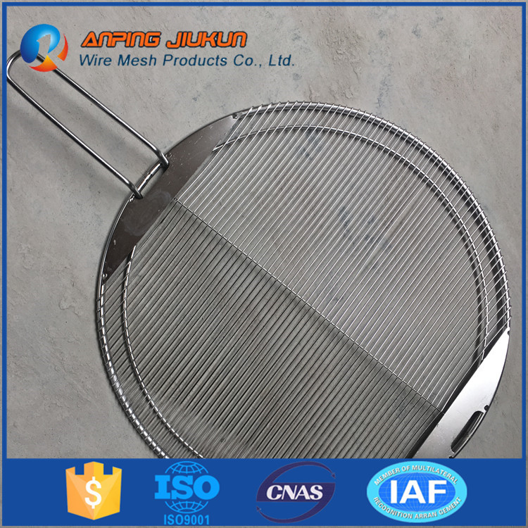 round shape barbecue grill wire mesh specialized for roasting