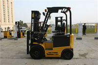 4 wheel electric 1.5tons fork lift china ac forklift