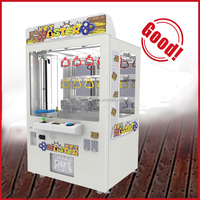 Australia shopping mall indoor children play used cheap mini toy doll key master arcade claw crane game machine kit for sale