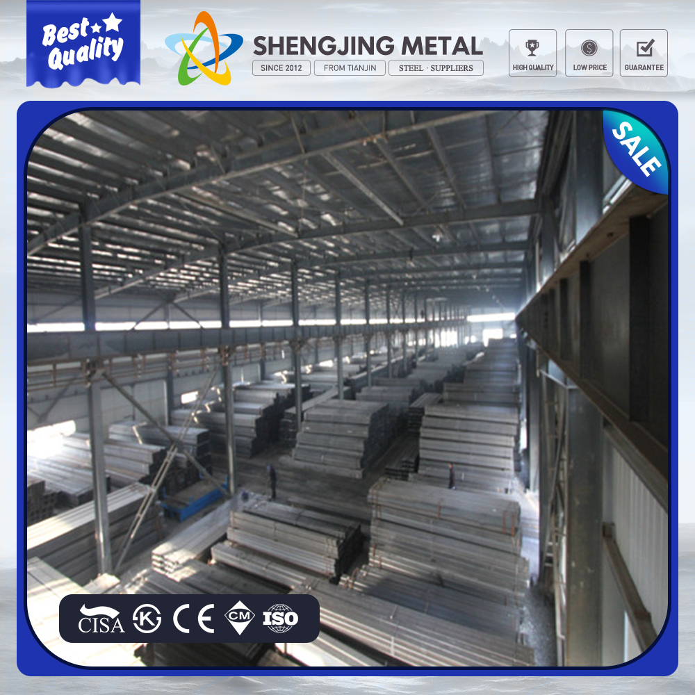 20X20mm Galvanized Steel Pipe for Steel Furniture with Thin Wall