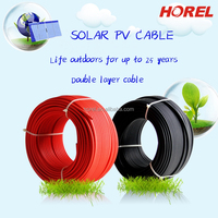 1* 6mm dc solar cable