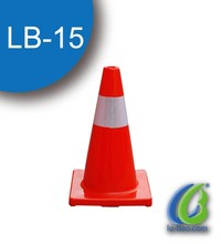 Good Quality Traffic Safety PVC Cones / European Standard Road Warning Road Cone
