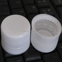 28mm plastic water cap with folding part for tamper evident band