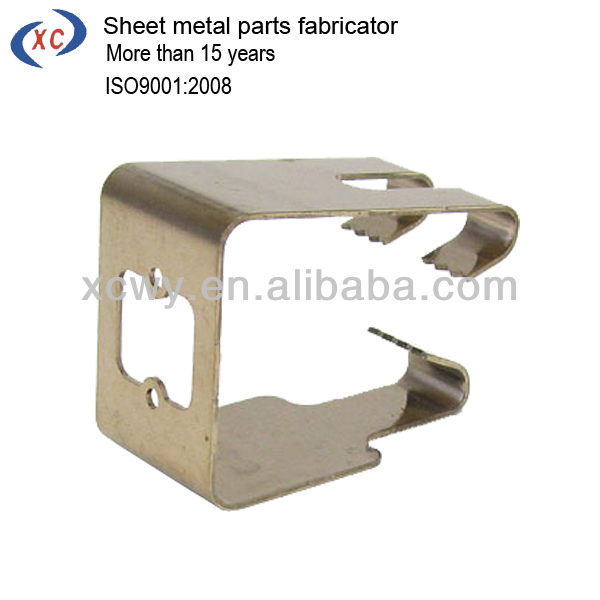 Sheet metal extruded