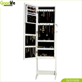 mirror jewelry display cabinet for wholesale