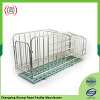 Pig breeding equipment in animal cages for from pigs