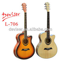 "40"" Spruce colorful Acoustic Guitar factory"