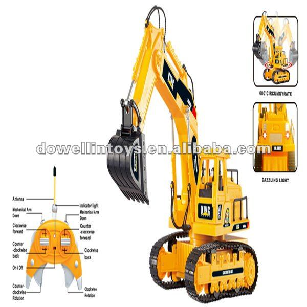hot!!!7ch rc construction equipment