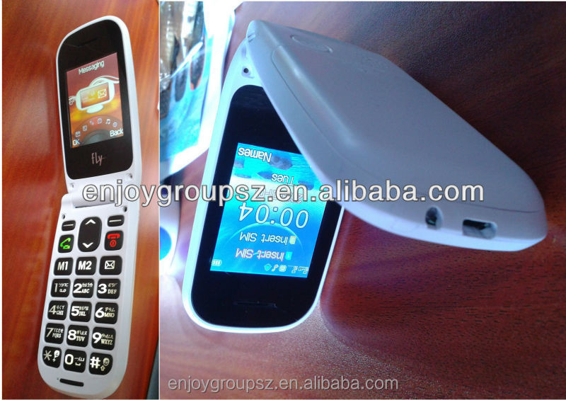 2.2 inch TFT 3g wcdma senior cell phone for old people