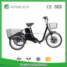electric chopper bicycle with 36V 12Ah lead acid battery CE