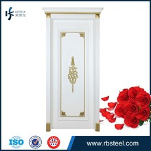 hot sale painted white color swing wood door design catalogue