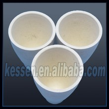 High quality ceramic mineral assaying fire clay crucibles