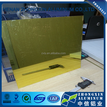 Reflective Mirror Ionized Aluminum Metal for advertisement board