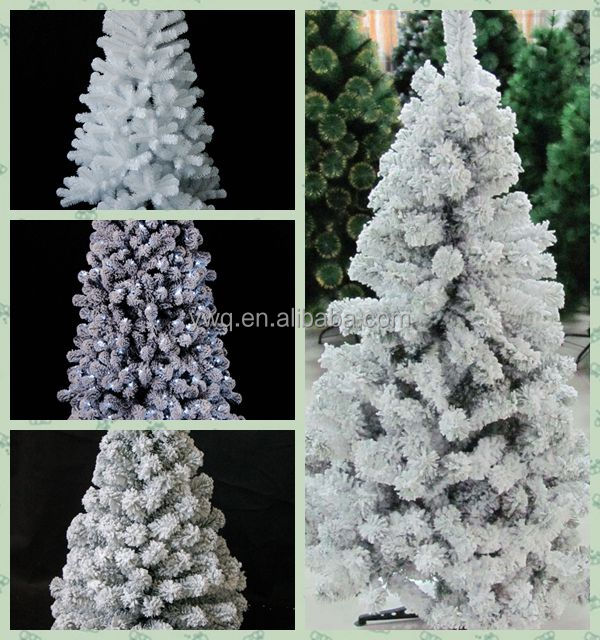 2016 Outdoor/ Indoor Decoration 6ft/7ft/8ft PVC/Pine neddle flocking Christmas Tree
