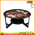 Outdoor cast iron fire pit/fireplace
