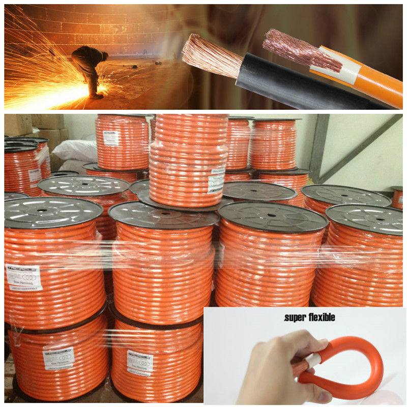 16mm2 copper conductor pvc sheath welding cable 400AMP 120mm2 95mm2 16mm2 copper welding cable weld x ray testing equipment