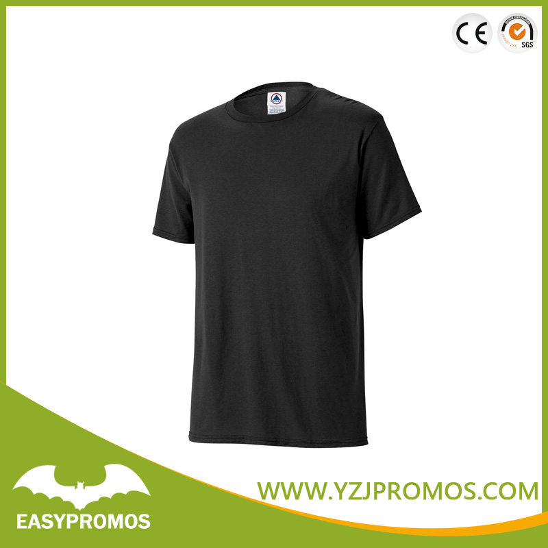 Cheap Price Blank T shirts with Black Color