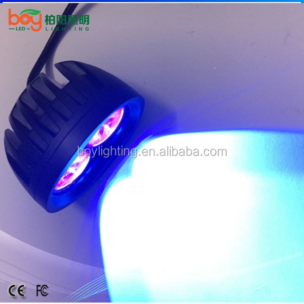 eagle eyes bike front led light 12v blue bike bulb