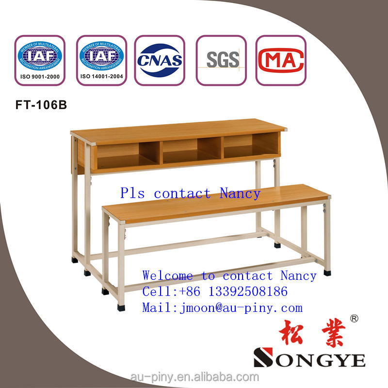 Cheapest School Furniture Used High School Classroom Single Set