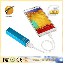 mini power bank 2600mah mobile phone recharger for smartphone