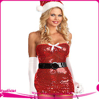 OEM Easy Unique Women Christmas Cosplay Costumes