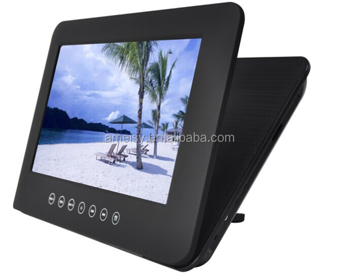 9 inch headrest DVD player with touch button