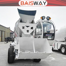 Cement Mixing Concrete Mixer 2m3 Concrete Mixer Truck For Sale