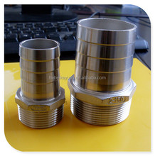 "4"" SUS304 NPT industrial thread hose tail fittings"