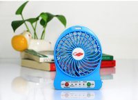 Mini Portable Table Electrical USB Fan Hand Held USB and Battery Rechargeable Air cooling Fan
