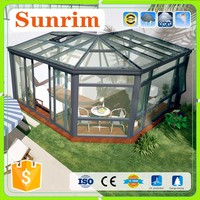aluminum frame veranda polycarbonate sunroom colors