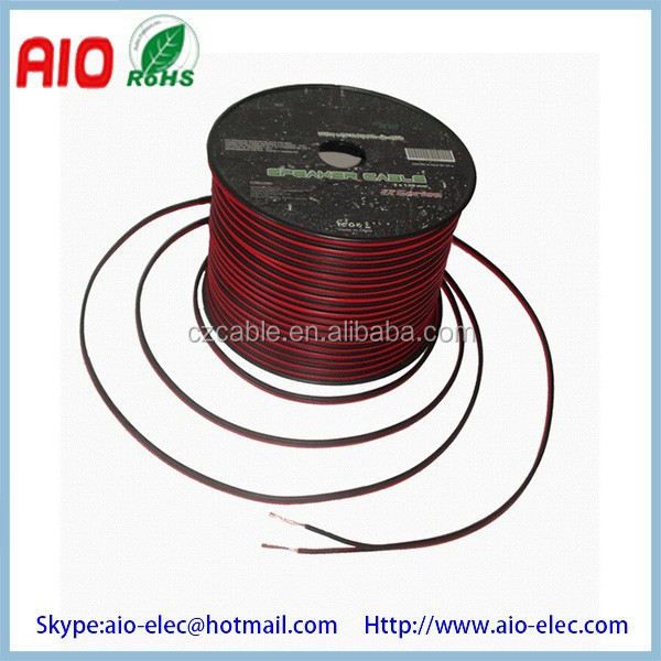 HT-SC-RB Red and Black speaker wire/cable for vehicle refitting/Customize Car