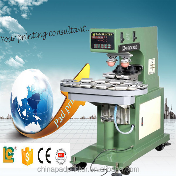11.11 promotions 2-color pad printing machine ceramic ring for ink cup pad printer
